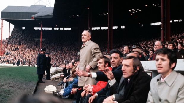 Bill Shankly took the reins in 1959 and created the idea of the modern Liverpool. Photograph: Bob Thomas/Getty Images