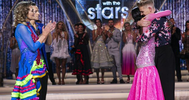 The moment Love Islander Yewande Biala was voted off Dancing with the Stars. Photograph: Kyran O'Brien