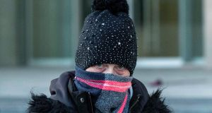 Louise O'Connor, of Millmount Court, Dundrum Road, Dublin 14, leaving court on Monday. Photograph: Collins Courts