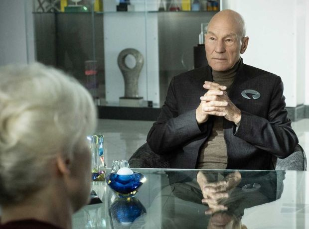 Patrick Stewart in Star Trek: Picard, which streams on Amazon Prime Video from Friday