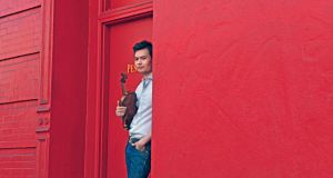 American violinist Stefan Jackiw is the soloist in Beethoven's Violin Concerto at the National Concert Hall on Friday