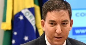 Glenn Greenwald became known internationally for his role in the publication of classified US national security documents leaked by  Edward Snowden in 2013. Photograph: Evaristo Sa/AFP via Getty