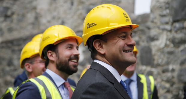 Fine Gael has expanded its Help to Buy scheme until 2021. Photograph: Nick Bradshaw/The Irish Times