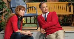 A Beautiful Day in the Neighborhood: director Marielle Heller on set with Tom Hanks