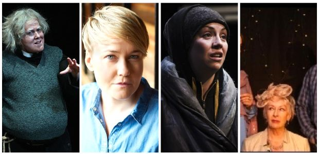 Best supporting actress nominees: Clare Barrett, Amy Conroy, Liz Fitzgibbon and Geraldine Plunkett