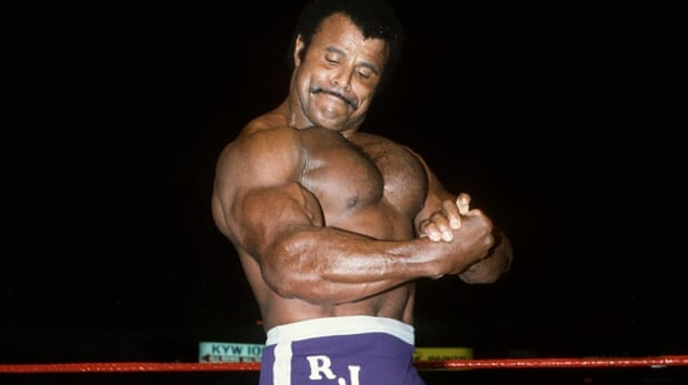 Rocky Johnson changed the face of wrestling for black athletes. Photo: Getty Images