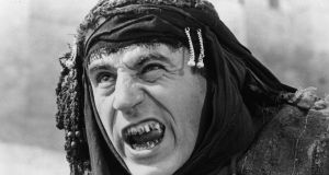 1979: Terry Jones, star of Monty Python's Flying Circus directed and starred in Monty Python's Life Of Brian. Photograph: Evening Standard/Getty Images