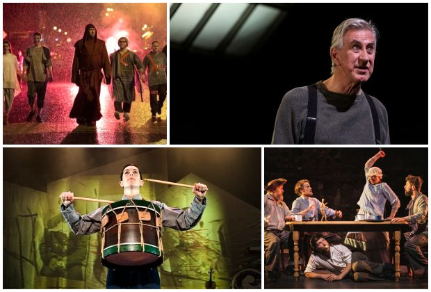 Best Lighting nominees (clockwise from top left): Paul Keogan 