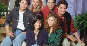 Which Friend are  you?  Courteney Cox  as Monica, Matt LeBlanc as Joey, Lisa Kudrow as Phoebe, David Schwimmer as Ross, Matthew Perry as Chandler, Jennifer Aniston as Rachel.  Photograph:   Bank via Getty