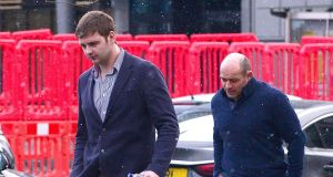 Rory Best (right) attended the Belfast rape trial with Ulster and Ireland teammate Iain Henderson: Pacemaker.