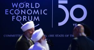 Davos brings together entrepreneurs, scientists, corporate and political leaders. Photograph: EPA