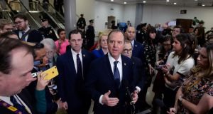 House intelligence chairman Adam Schiff: argues it is the role of Congress to keep presidents in check. Photograph: Mary F Calvert