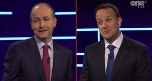The first televised debate of the general election campaign between the leaders of the two biggest parties has taken place.