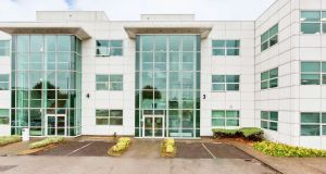 The office unit is located within Block 4B at Blanchardstown Corporate Park, D15