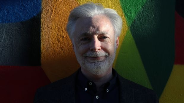 "Eoin Colfer: has visions of ""semi-retirement"" and ""just doing a book every two years"". Photograph: Nick Bradshaw"