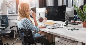 While 71 per cent of the general working-age population are at work this figures is just 31 per cent of people with a disability. Photograph: iStock