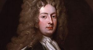 William Congreve in 1709. Painting by Sir Godfrey Kneller in the National Portrait Gallery, London.