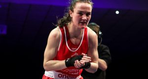 Kellie Harrington is guaranteed a medal in Bulgaria. Photograph: Laszlo Geczo/Inpho