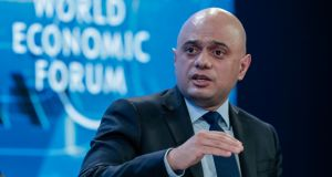"UK chancellor Sajid Javid. ""His message to UK business was clear  – the UK was getting ready to diverge from EU rules."" Photograph: Jason Alden/Bloomberg"