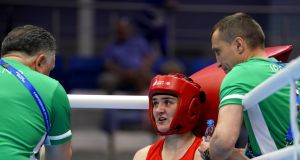 Kellie Harrington will box for gold in Bulgaria on Saturday. Photograph: Soenar Chamid/Inpho
