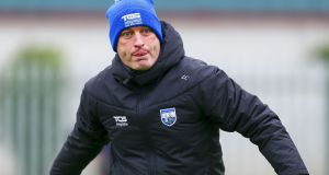 Waterford manager Liam Cahill: 'A lot of modern day managers have a lot of business experience or a lot of life-coaching experience. I don't have that.' Ken Sutton/Inpho