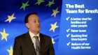 Taoiseach Leo Varadkar launches Fine Gael's election manifesto