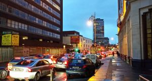 The Green Party claims traffic congestion costs Dublin close to €500m annually, rising  to €2bn by 2030. File photograph: The Irish Times