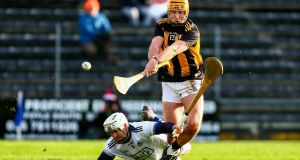 Kilkenny's Billy Ryan goes by Dublin's Alan Nolan to score his side's second goal. Photo: Ken Sutton/Inpho
