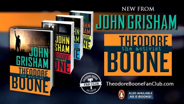 Theodore Boone series by John Grisham: yes, that John Grisham, and his teen detective series is as addictive and thrilling as his adult novels.
