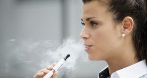 The WHO was accused of   spreading 'blatant misinformation' about the potential risks and benefits of e-cigarettes following the release of an usual press release. Photograph: iStock