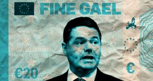 Before casting your vote in the general election it's worth examining what effect successive Fine Gael budgets have had on your pay packet. Illustration: Paul Scott