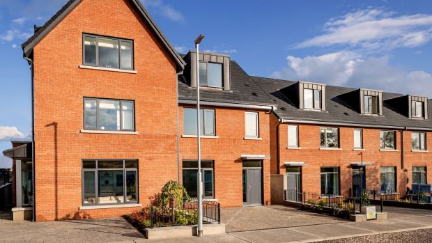 Trading up: Prices at Beechpark in Cabinteely, Dublin 18 start from €520,000 for three-bed terraced houses of 131sq m ( 1,410sq ft)