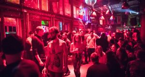Griessmuehle in Berlin. Nightclubs play a huge role in the city's culture and economy. But real estate investors and infrastructure projects have put many venues at risk. Photograph: Gordon Welters/The New York Times