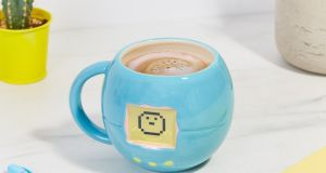 All you need is a hot drink to wake this Tamagotchi up