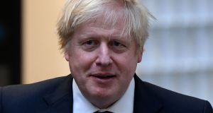 UK prime minister Boris Johnson under severe time pressure to get a trade deal signed before the end of the year when the transition period finishes. Photograph:  Daniel Leal-Olivas via Getty