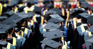 Political failure to prepare adequately for a significant expansion in student numbers at third level will come at a cost to families, society and ultimately to the economy. Photograph: iStock