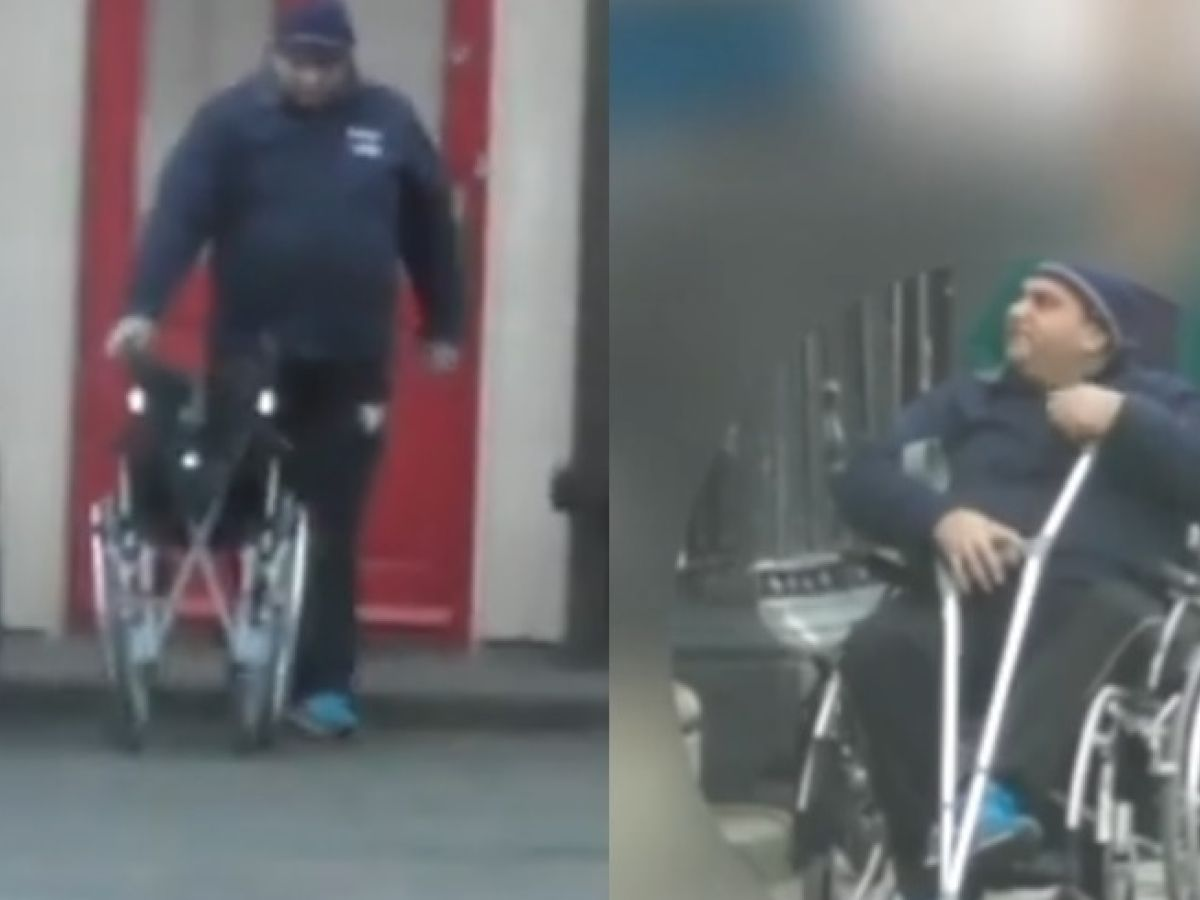 Claim withdrawn after court shown video of man walking