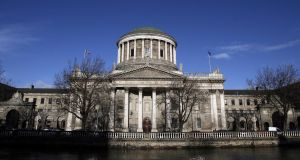 It is claimed VAT due on the goods bought in the UK by Kevin Rabbitte was not paid to Revenue when the machinery was subsequently sold on in Ireland.  The Four Courts. Photograph: Chris Maddaloni/Collins