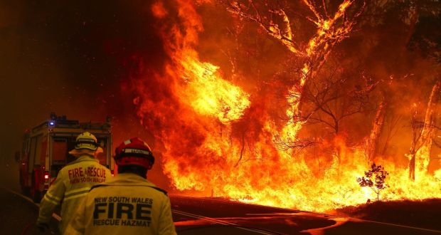 The Western US Swelters While Canada Buckles Up With An Emergency Plan To Control Wildfires