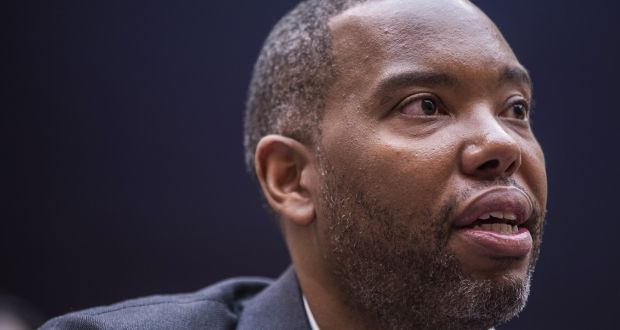 Ta-Nehisi Coates: his work has been compared that of Toni Morrison and James Baldwin.