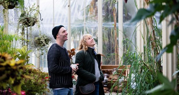 Spend your date getting steamy in the glass houses of the National Botanic Gardens in Dublin. Photograph: Tom Honan