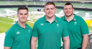 The lives behind three rugby players representing Ireland