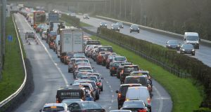 Traffic on the M3 motorway which links Dublin and Navan, Co Meath. File photograph: Alan Betson