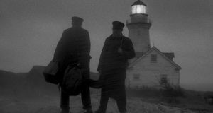 Twilight zone: Robert Pattinson and Willem Dafoe in The Lighthouse