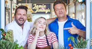 Jimmy Doherty, Saoirse Ronan and Jamie Oliver, Friday on Channel 4