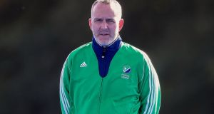 Mark Tumilty will remain as Ireland men's coach until the end of the Olympic cycle in 2020. Photograph:  Bryan Keane/Inpho