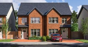 The Wood Group's Churchlands scheme in Delgany will comprise 74 three and four-bed houses.