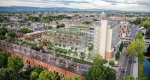 An artist's impression of the planned development at Grand Parade in Dublin
