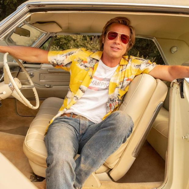 Coupe de Ville: Brad Pitt, from Once Upon a Time in... Hollywood. Photograph: Andrew Cooper/Columbia Pictures