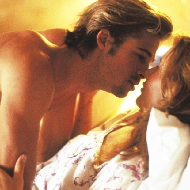 Brad Pitt with Geena Davis in Thelma & Louise